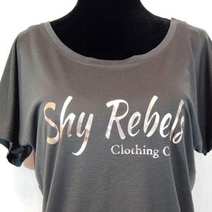05569d211f1 Shy Rebels Clothing Co. Tops - Shy Rebels flowy ter